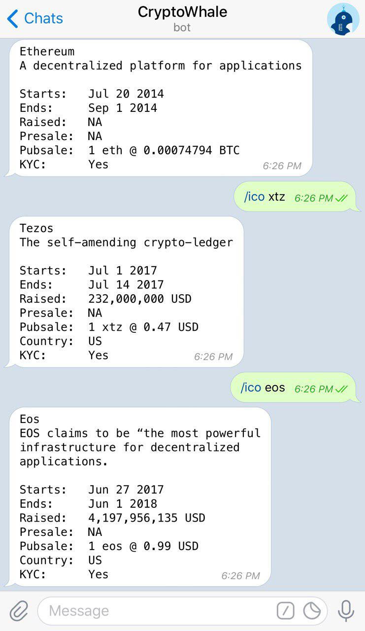Crypto Whale Bot - Bitcoin & Crypto Currency Bot